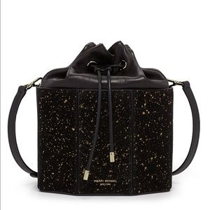 Henri Bendel Gold Speck Bag